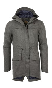 Loden Woll Winter Jacke - SCHAAP - Men - triple2