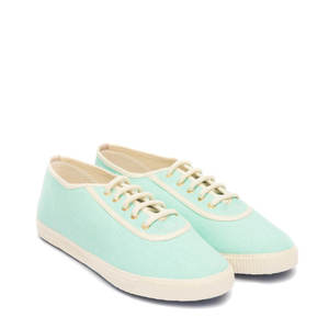 Startas Light Green Canvas Sneaker Low - Startas