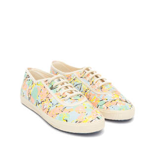 Startas Marble Girl Canvas Sneaker Low - Startas