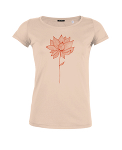 Red Blossoms - Loves modal - T-Shirt - GreenBomb