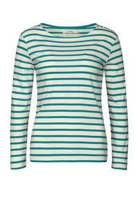 Sailor Shirt Breton Ecru Azurite  - Seasalt Cornwall