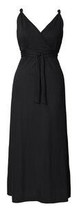 2 in 1 Stillkleid und Umstandskleid 'Tomika' blau oder schwarz Maxi - Boob