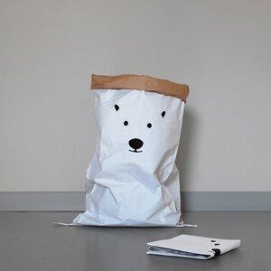 Papiersack Eisbär  - Kolor