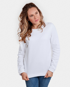 Damen Sweater aus Bio-Baumwolle - Classic - weiß  - Degree Clothing