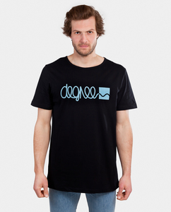Shirt Logo schwarz - Degree Clothing