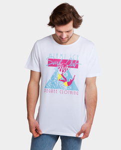 Shirt Surfclub weiß - Degree Clothing
