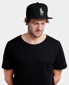 Snapback Flamolo Cap schwarz - Degree Clothing