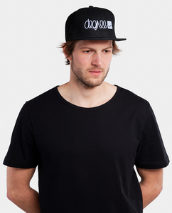 Snapback Logo Cap schwarz - Degree Clothing
