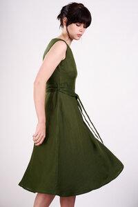 Linen Sleeveless Dress  - bibico