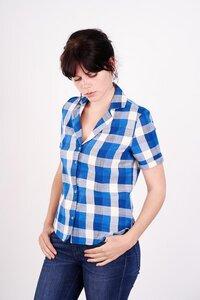 Alice Checked Shirt  - bibico