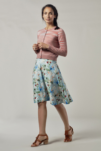LULANA Rayon Skirt - Komodo