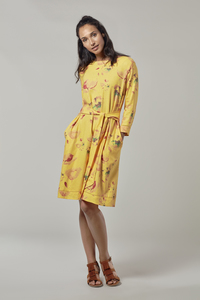 KIAN Organic Leinen Kleid - Komodo
