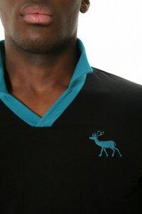 Shirt Merkur schwarz-ozean - Göttin des Glücks