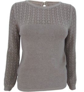 Pullover mit Ajourmuster-Details - bibico