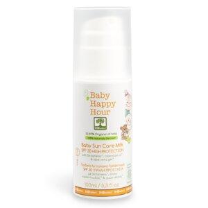 Happy Hour - Sonnenschutzmilch für Babys Hoher Schutz SPF30 100ml - BIOselect