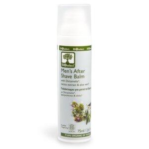 Beruhigender Aftershave Balsam für Männer 75ml - BIOselect