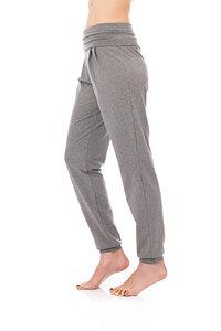 Yogahose im Sarouel Stil grau meliert - bill, bill & bill