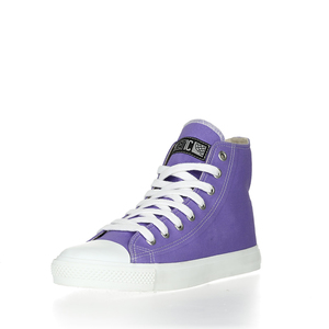 Fair Trainer  Hi Cut Collection Purple Rain | Just White - Ethletic