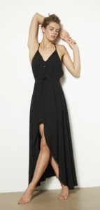 MAXIDRESS ZOE BLACK - Hati-Hati
