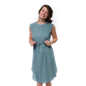 Pacific Kleid Damen Ocean Blau - bleed