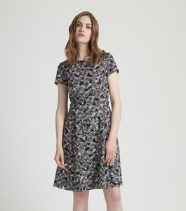 Danielle Dress Schwarz - People Tree