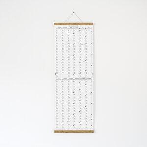 Der lange Wandkalender 2018 mit Posterleiste - Kleinwaren / von Laufenberg