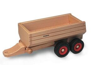 Muldenkipper-Anhänger wunderschönes Holzpielzeug aus natürlichem Buchenholz (z.b. für Schlepper) - Fagus® Holzspielwaren