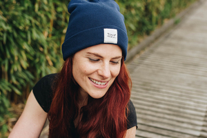 Paperboat Beanie Biobaumwolle / Made in EU denim - ilovemixtapes