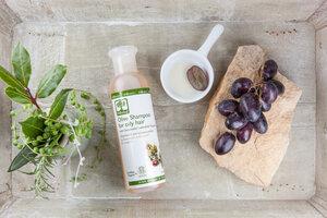 Olivenöl-Shampoo für fettiges Haar 200ml - BIOselect