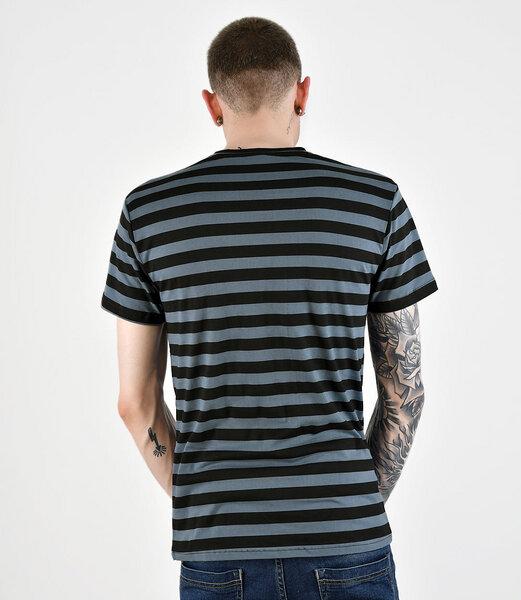 home edition herren basic shirt mit blau schwarzen. Black Bedroom Furniture Sets. Home Design Ideas