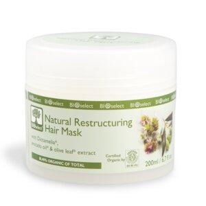 Natürliche restrukturierende Haarmaske - BIOselect