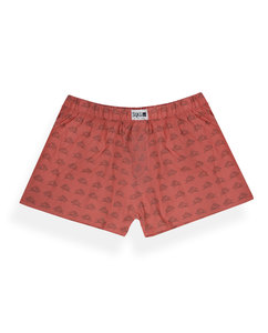 Degree Clothing - King Eichel Boxershort - rot - Degree Clothing
