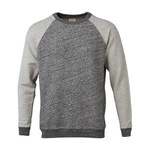Sweat W/Sleeves in Reverse Side Fabric grey - KnowledgeCotton Apparel