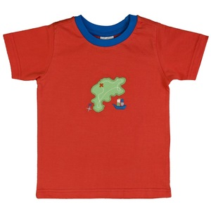 Kinder T-Shirt rot Bio Baumwolle - People Wear Organic