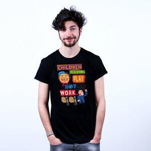 Children Should Play - T-Shirt Männer mit Print - Coromandel