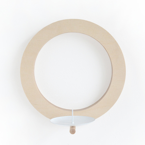 Wand-Kerzenhalter aus Holz  - renna deluxe