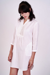 Angie Pleated Tunic  - bibico