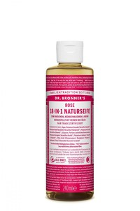 Magic Soap Flüssigseife Rose 240ml - Dr. Bronner's