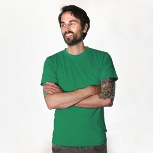 Fairtrademerch Men's Organic T-Shirt (green) - Fairtrademerch