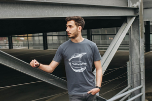 Three Whales Fair Trade / Bio Men Shirt _dark grey - ilovemixtapes