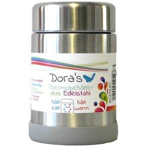 Edelstahlbehälter mit Deckel - Dora