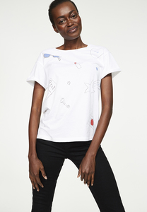 T-Shirt aus Bio-Baumwolle Nalin Travel - ARMEDANGELS