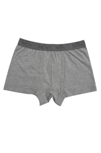 Fairtrade Trunks für Jungen, grau-melange - comazo|earth