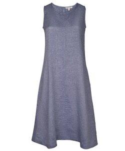 Linen Dress indigo - Alma & Lovis
