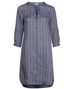 Linen Stripe Dress indigo - Alma & Lovis