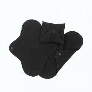 Monatshygiene Damenbinden Gr.2 black - Imse Vimse
