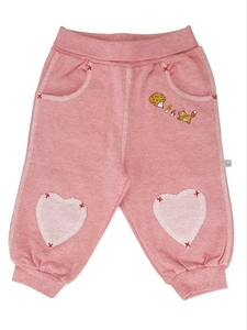 Baby Jogginghose altrosa Bio Baumwolle - EBi & EBi