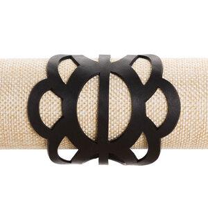 Cloud veganes Statement Armband aus recyceltem Reifenschlauch - SAPU