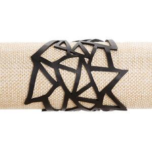 Cubism veganes Statement Armband aus recyceltem Reifenschlauch - SAPU