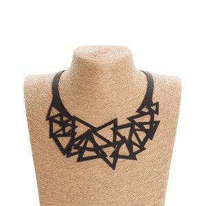Cubism kunstvolle Reifenschlauch Halskette - SAPU